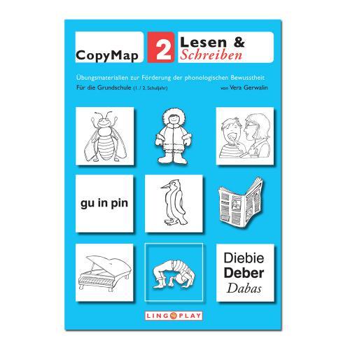 CopyMap 2 - Ähnliche Laute, Lautanalyse und -synthese