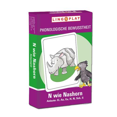 N wie Nashorn - Anlaute Ei, Au, Eu, H, N, R, Sch, S
