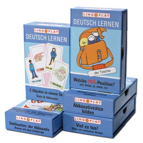 Paket Basisgrammatik - Spiele für den DaZ-Unterricht