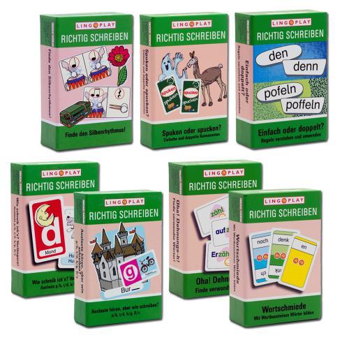 Paket Rechtschreibprofi mit 7 Spielen zur Rechtschreibung