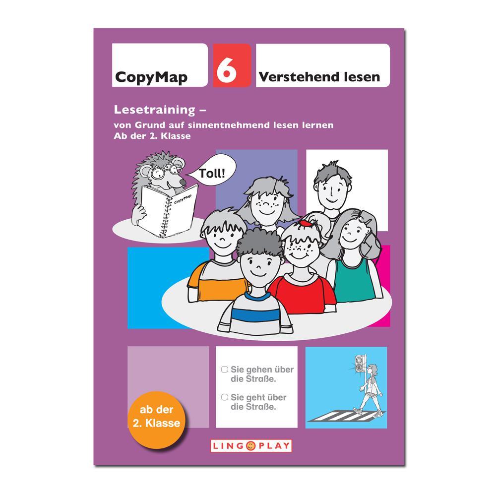 CopyMap 6 - Von Grund auf sinnentnehmend lesen lernen
