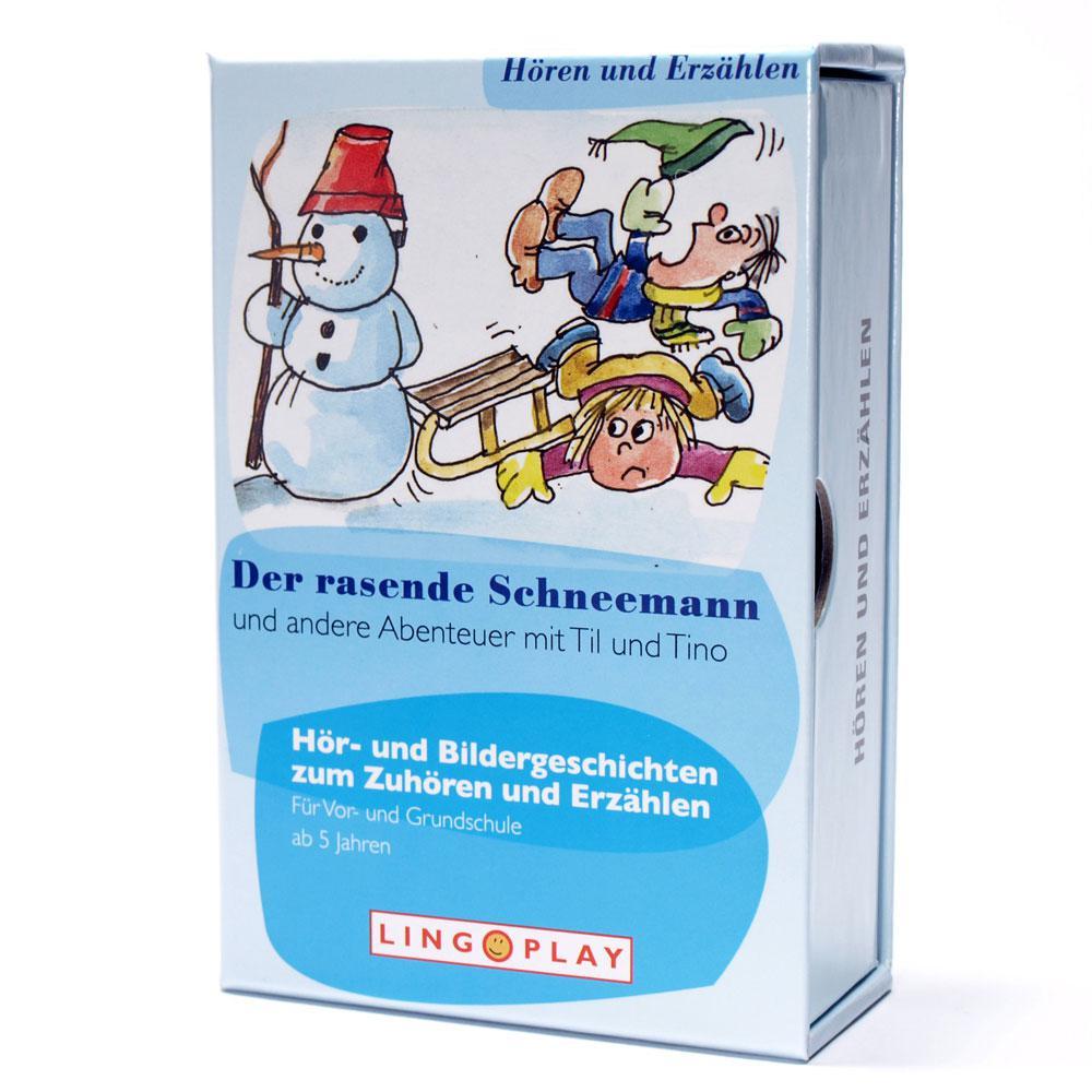 Der rasende Schneemann - Hör- und Bildergeschichten