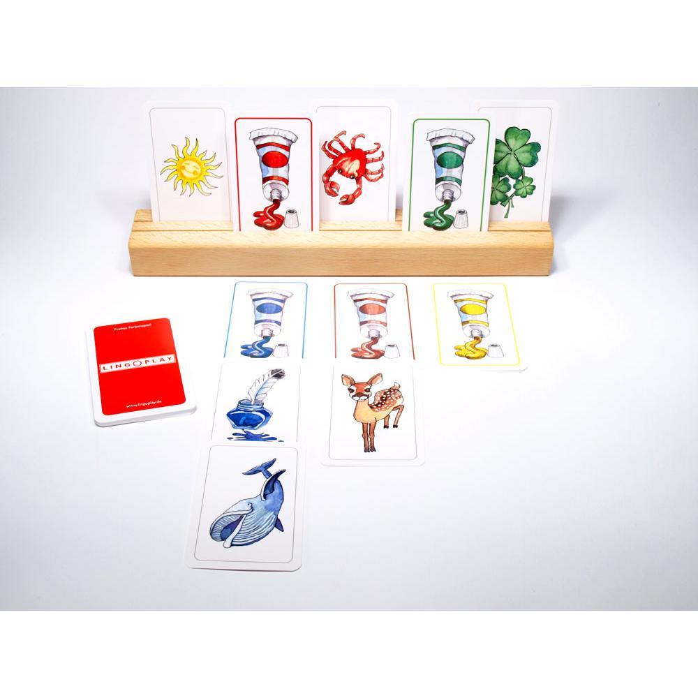 Frohes Farbenspiel! - Farben lernen und unterscheiden