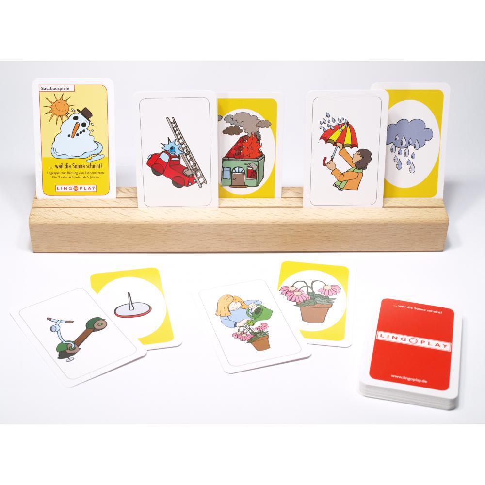 Paket: Satzbauspiele - 4 Spieleboxen