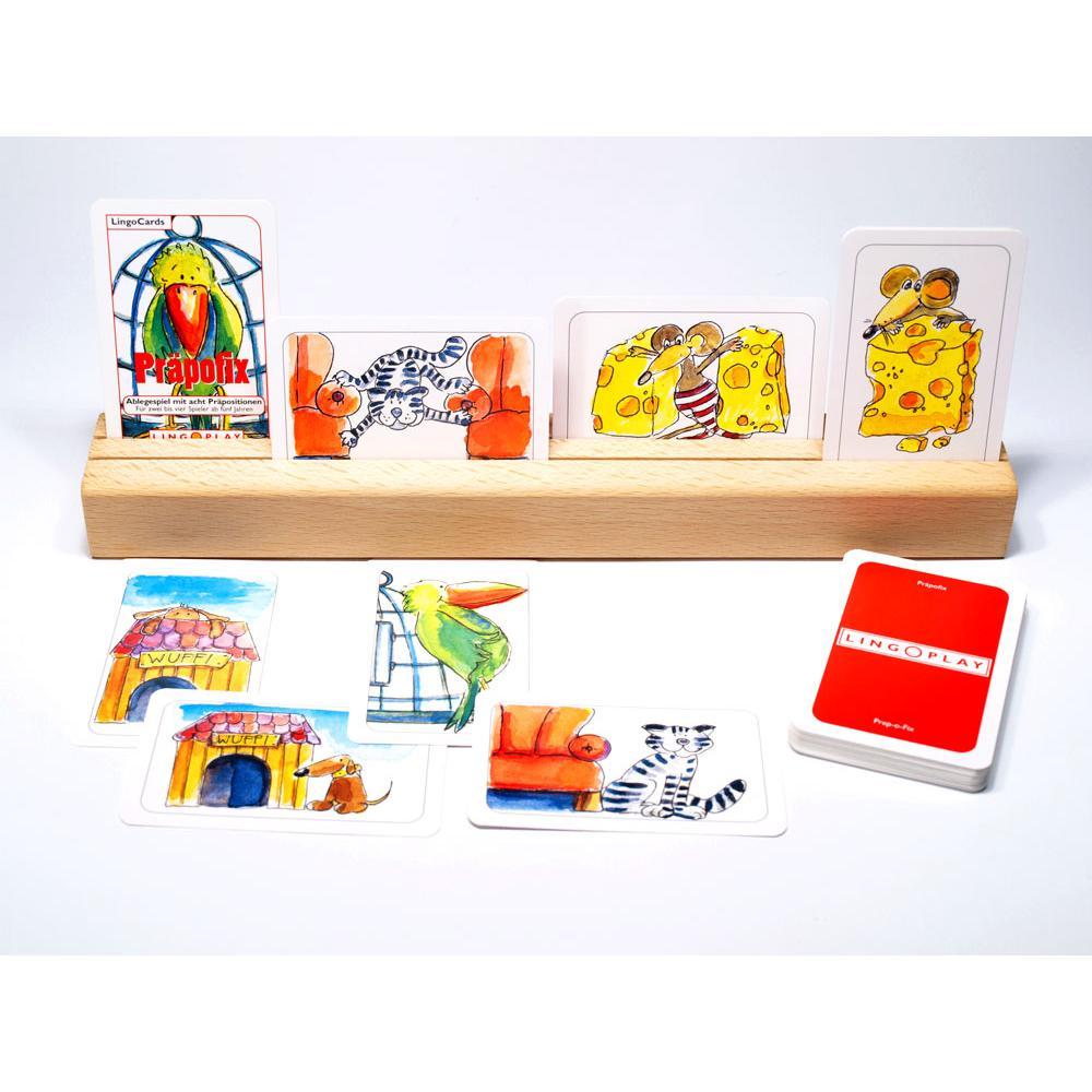 Präpofix - Spiel mit 8 Präpositionen