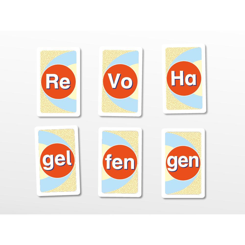 Silbenwiese - Silben lesen, Wörter bilden