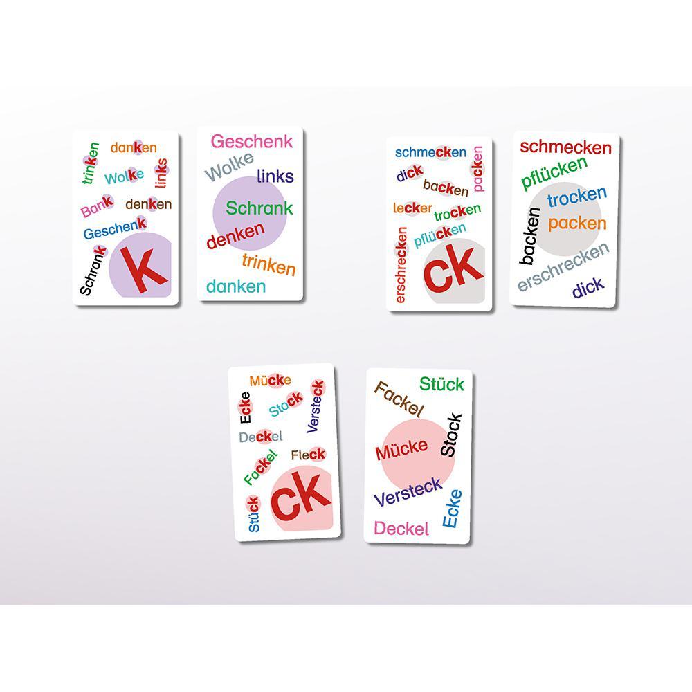 Wann schreibst du k und wann ck?