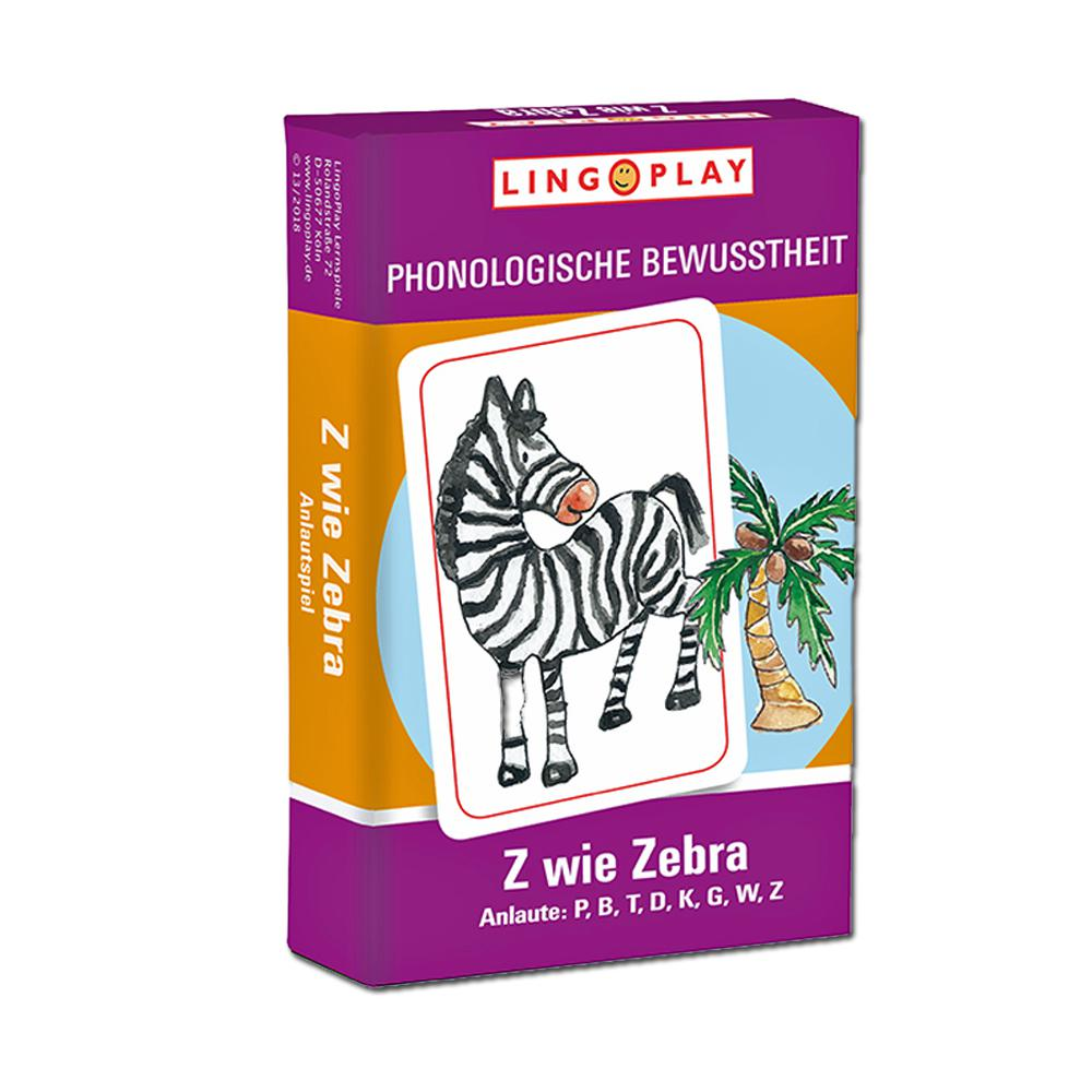 Z wie Zebra - Anlaute B, P, D, T, G, K, W, Z